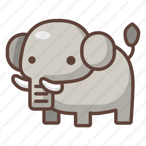Download Elephant Icon Inventicons