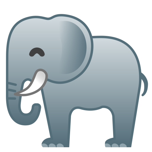 Elephant Icon Noto Emoji Animals Nature Iconset Google