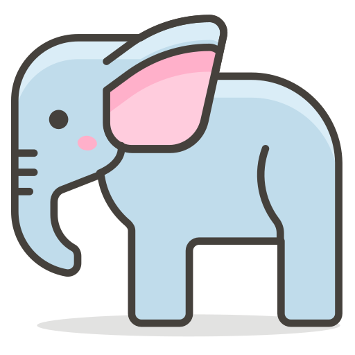 Elephant, Animal Icon Free Of Another Emoji Icon Set