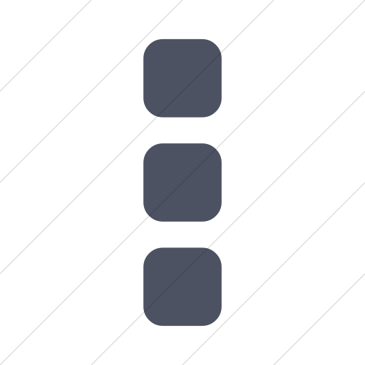 Simple Blue Gray Bootstrap Font Awesome Ellipsis V Icon