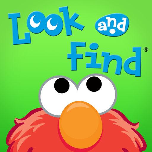 Look And Elmo On Sesame Street