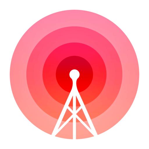 Radium Perfect Internet Radio App Icon Graphic Design Ios