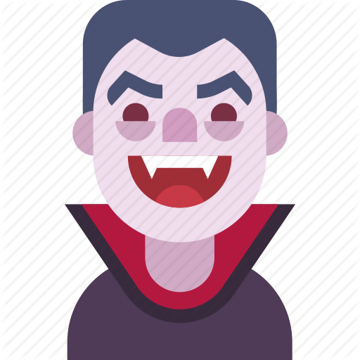 Avatar, Dracula, Fangs, Helloween, Man, Monster, Vampire Icon