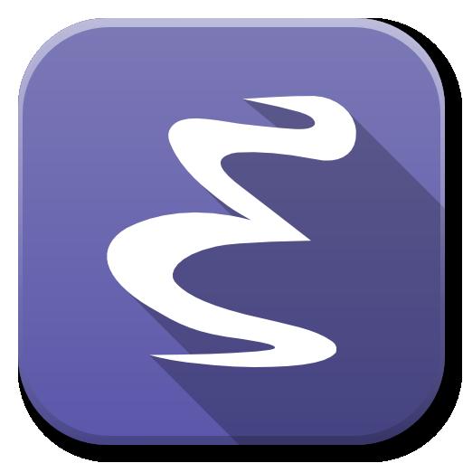 Apps Emacs Icon Flatwoken Iconset Alecive