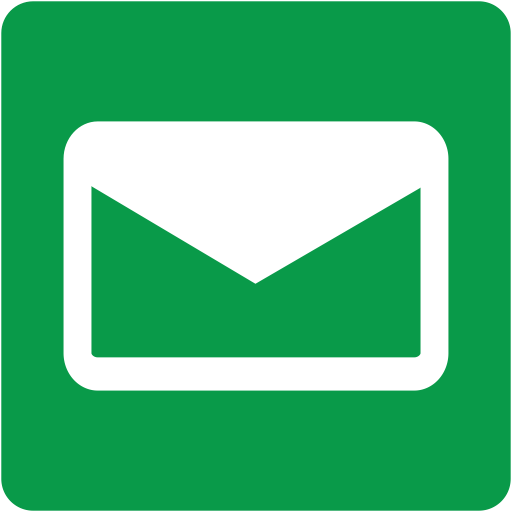 Email, Address Book, Square Icon