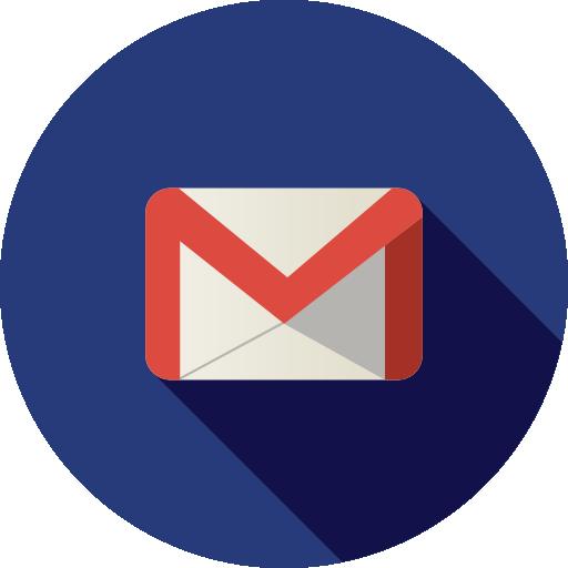 Gmail Email Circle Logo Png Images