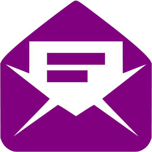 Purple Logo Icon Email Address Free Icons