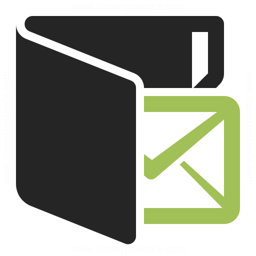 Folder Mail Icon Iconexperience