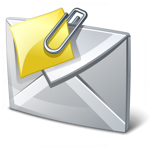 Iconexperience V Collection Mail Attachment Icon
