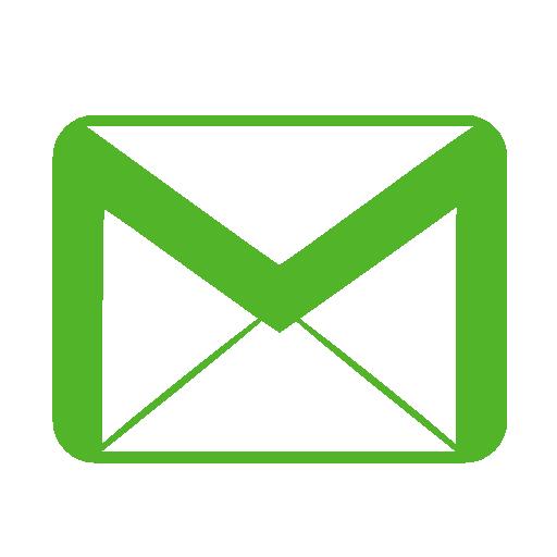 Communication Email Green Icon Metronome Iconset