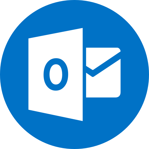 Circle, Email, Mail, Outlook, Round Icon Icon