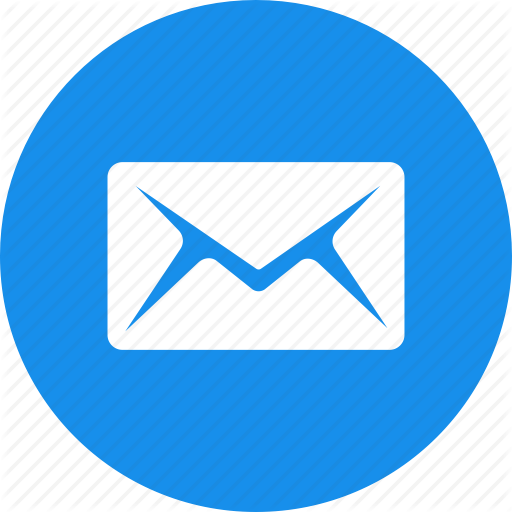 Mobile Email Circle Logo Png Images
