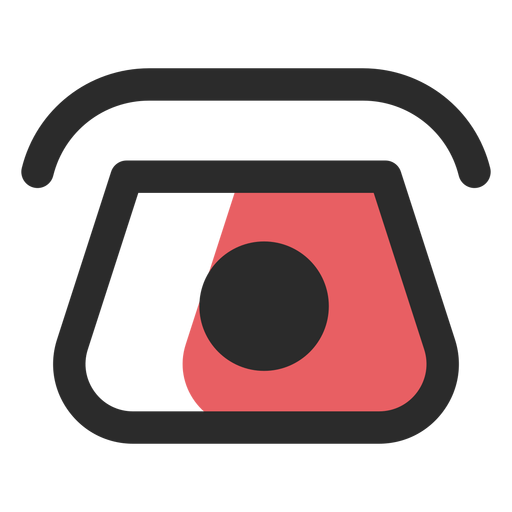 Rotary Telephone Contact Icon