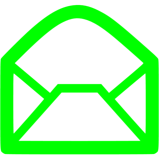 Lime Email Icon