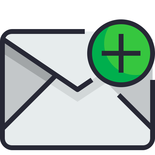 Email, Add, New, Insert, Envelope Icon Free Of Email Icons