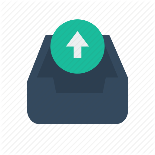 Email, Mail, Outbox Icon