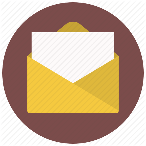 Mixed Mail Flat Icon