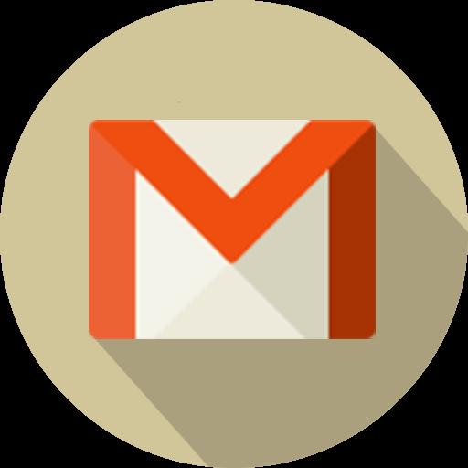 Social Media Gmail Flat Icon