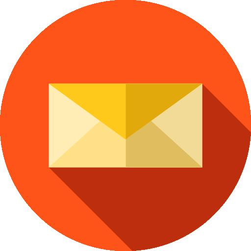 Web Mail Flat Icon