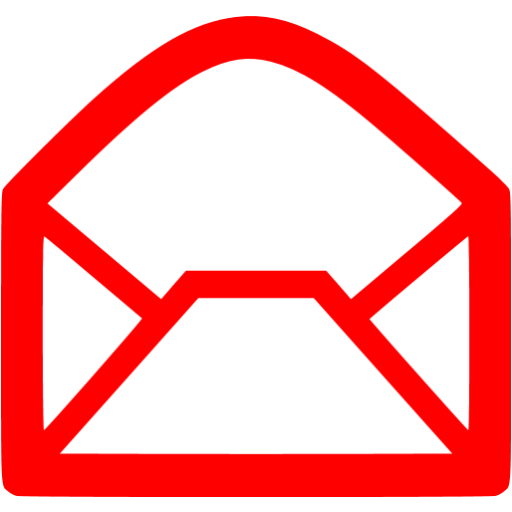 Red Email Icon Png Png Image