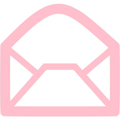 Pink Email Icon