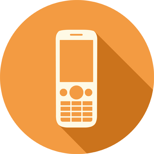 Mobile Phone And Email Icons Images