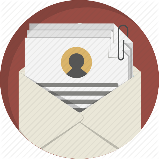 Cv, Documents, Email, Letter, Message, Resume, Send Icon