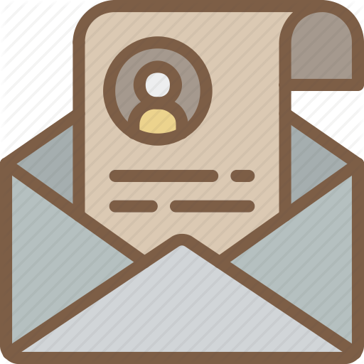 Email, Hr, Human, Resources, Resume Icon