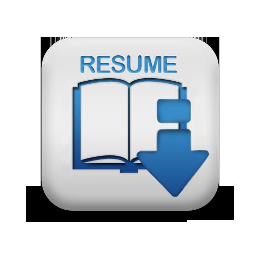 Resume Symbol Icon