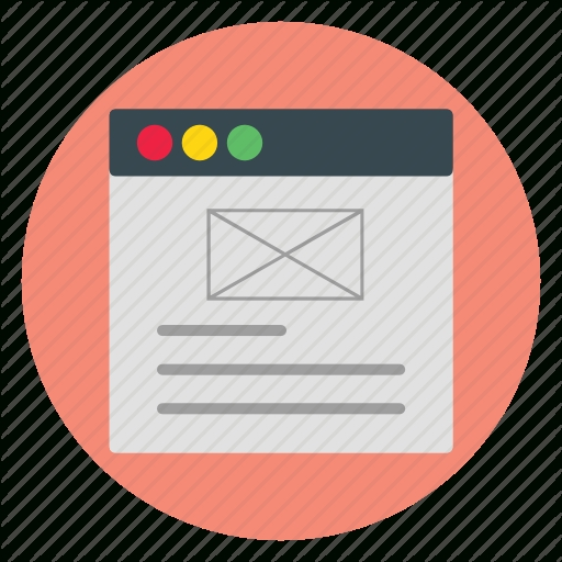 Email Template Icon Template And Paper World