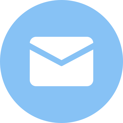 Email, Round, Fill Icon With Png And Vector Format For Free