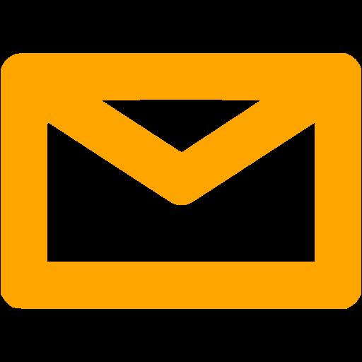 Email Icon Orange Images