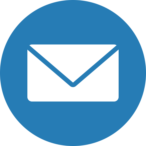 Cercle, Email, Envelope, Letter, Mail, Messages Icon