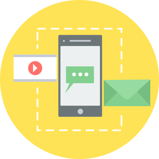 Smartphone Email Png Icon