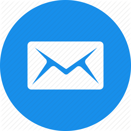 Email Icons Round