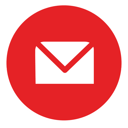 Round Email Logo Png Images