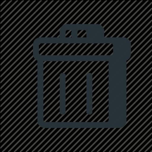 Delete, File, Mail, Message, Recycle Bin, Remove, Trash Icon