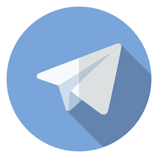 Telegram Icon Logo