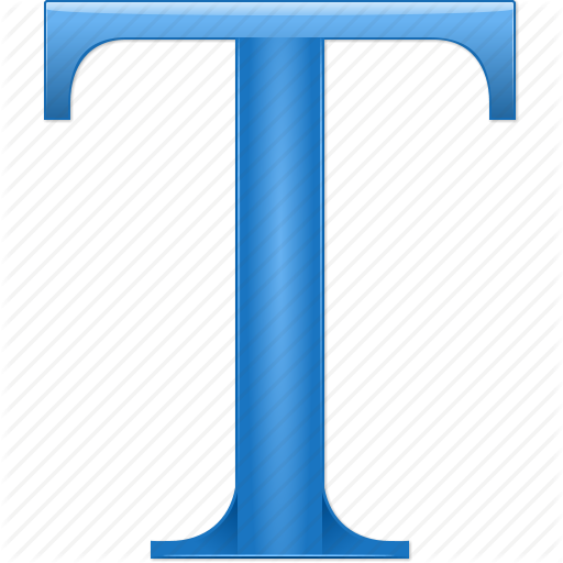 Alphabet, Document, Font, Letter T, Text, Type, Word Icon