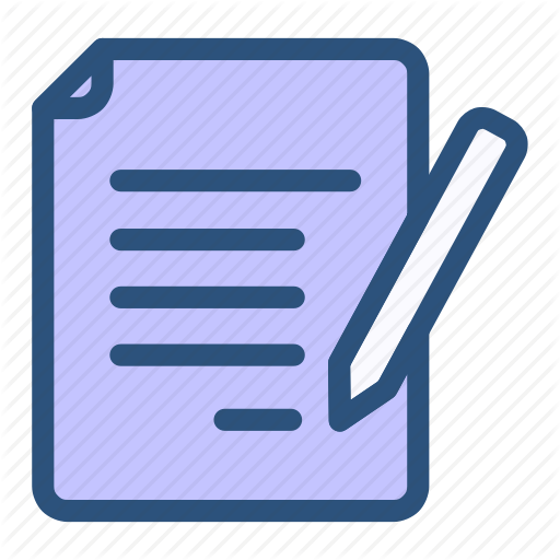 Contact, Note, Word, Writing Icon
