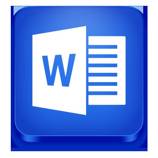 Word Icon Microsoft Office Iconset Iconstoc