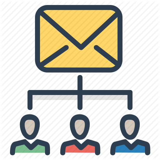 Alias, Contact List, Email, Recievers, Subscription List Icon