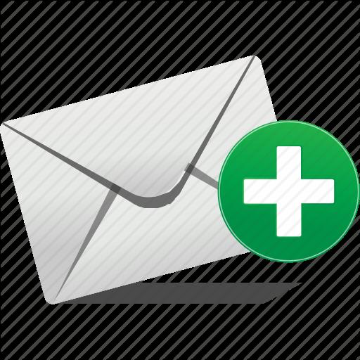 Communication, Email, Envelope, Logo, New, Plus, Send Icon