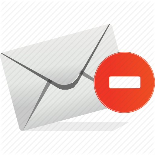 Communication, Email, Interaction, Logo, Stop Icon