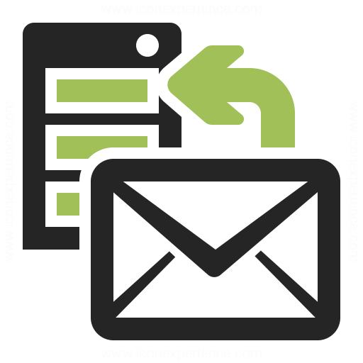 Server Mail Upload Icon Iconexperience