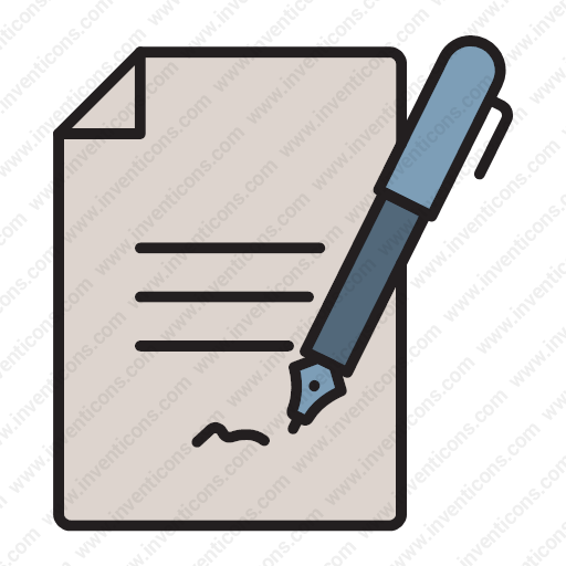 Download Document,signature,contract,contract,agreement Icon