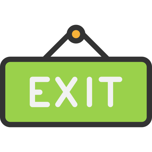 Exit Exit Png Icon