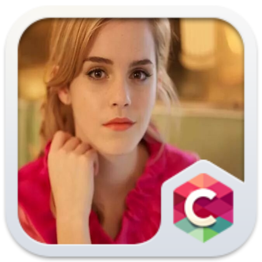 Emma Watson Free Android Theme U Launcher