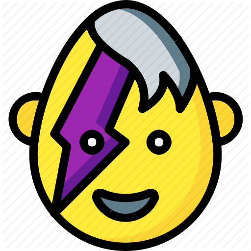 Emo, Emojis, Emotion, Flash, Glam, Goth, Smiley Icon