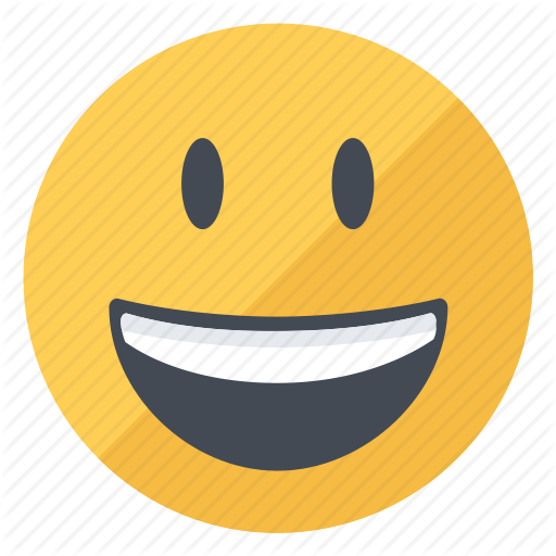 Emoji, Emoticon, Expression, Happy, Smile, Smiley, Yellow Icon